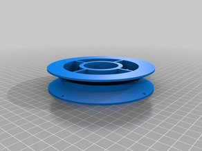 Printable Filament Spool Sized for MakerBox filaments