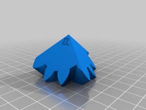 Three Cube Gears - 9-6 Large Gear