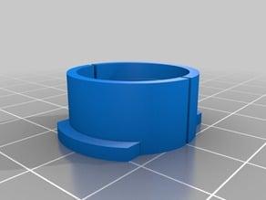 Protection cap for Li-Ion 18650 batteries.