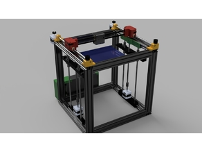 ReP_AL Core XY 3D Printer Small
