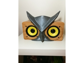 Owl mask for a Buo Speaker