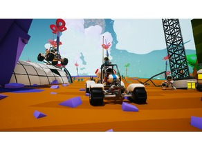 Astroneer Buggy (with seat)