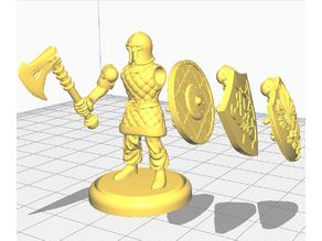 Multipose_Town_Guard_(Based_with_Axe_and_Shields)