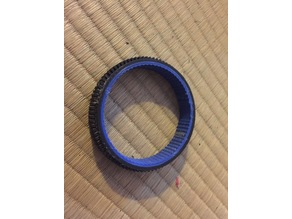 Zoom-ring-adapter for olympus PT-EP01 underwater housing