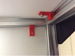 2020 Enclosure Clip with Screw Hole