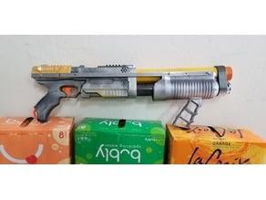 Merged Nerf Shotgun PumpMid & AR-15 Skeleton Handle