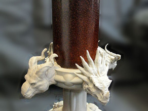 Four Dragons Candlestick