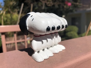 Glitched Snoopy