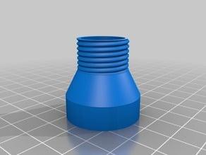 Adaptor shower hose to 2l bottle cap
