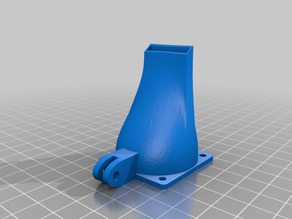 D-bot part cooling fan duct