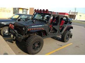 custom jeep fenders