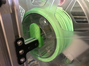 Spool Coaster for OpenBeam 1515 Extrusion