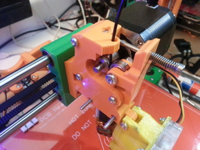 Direct drive extruder for Wilson or Prusa i3 rework