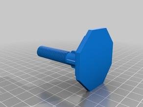 Toilet seat mount screw M12