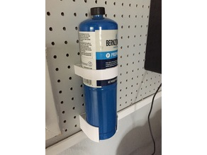 Propane Bottle storage Holder for standard Pegboard