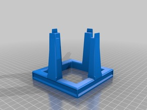 Lego SaturnV Vertical Stand