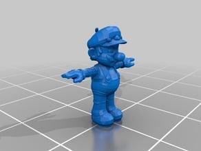[SSBB] Mario (T-Posed)