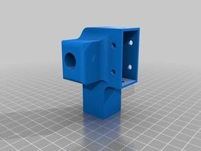 PATA IMPRESORA o CNC VSLOT 2040 ORIFICIO 12mm (opuesta)