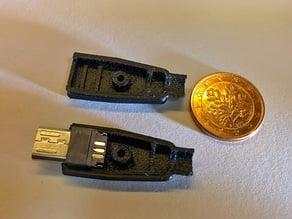 Micro USB Plug Shell