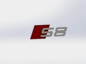 Audi S8 Badge