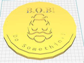 B.O.B. Overwatch Coin