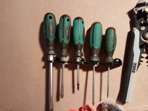Screwdriver Wall Mount / Schraubendreher Wandbefestigung