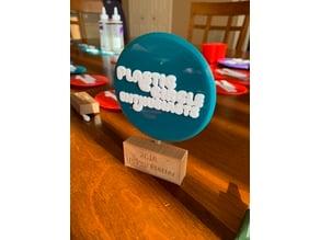 Frisbee Trophy