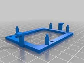 """Low Profile """"Snap-In"""" Arduino Uno Holder"""