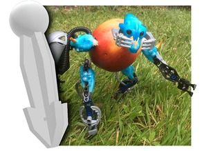 Bionicle to Fruit Adapter