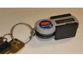 RSA Dual Token holder - Blank