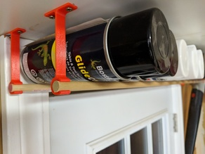 Spray Paint Can Hanger