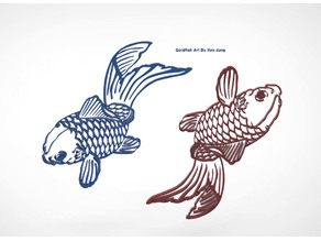 Goldfish Decoration Art