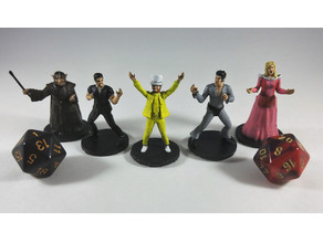 "The Gang from ""Its Always Sunny in Philadelphia"" - The Night Man Cometh D&D Miniature Set"