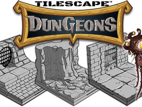 Tilescape™ DUNGEONS Modular Terrain Sample Pack