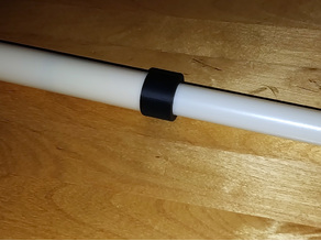 Simple PVC pipe telescopic arm