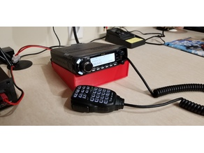 ICOM ID-4100A Mobile Dual-band Amateur Radio Desktop Stand