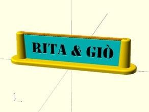 Text 1.0 (Rita & Giò)