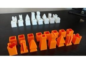 Piezas de ajedrez - Chess set