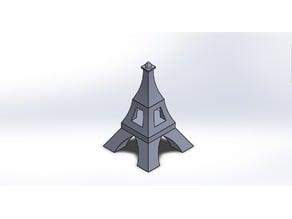 Eiffel Tower Paper Clip Holder
