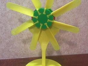 3d Printed wind turbine