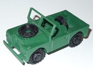 Series I Land Rover SWB