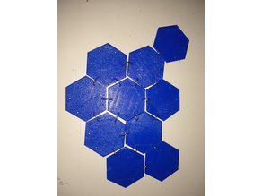 Hexagon chainmail piece