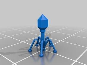 Stylized Bacteriophage