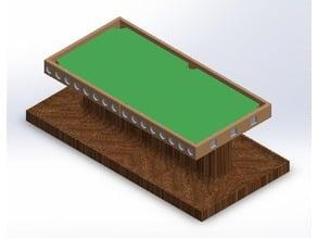 Pool Table Pencil Holder
