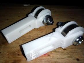 Alternative X & Y Belt Tensioner for Wilson 2 printer