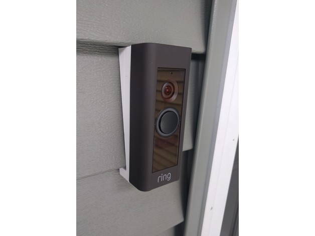 Ring Doorbell Pro Siding Mount By Rpatin