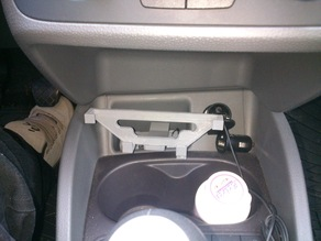 Smartphone cell phone holder SEAT Ibiza 6J