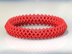 Diamond Structure Bracelet