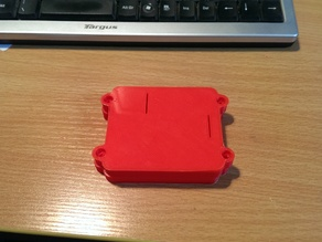 Extra top without gpio access for Safe and secure Raspberry Pi A+ Case