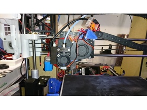 Anet A8 E3D V6 with Z axis adjustment and autolevel sensor